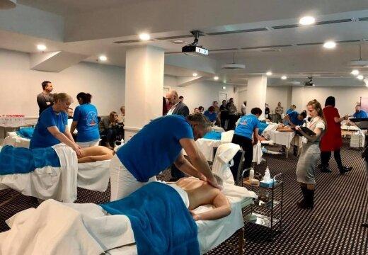 ФОТО: В Риге прошел чемпионат Балтии по массажу
