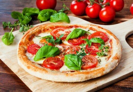 """Вкусный обед за полчаса: любимый вариант пиццы """"Маргарита"""""""