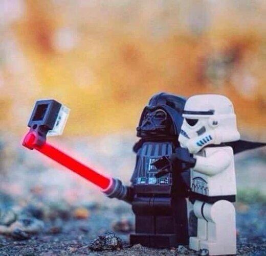 ...lai selfijs ir ar jums!