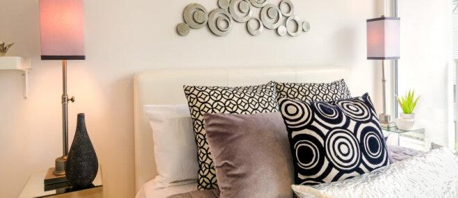 Maza guļamistaba: kā maksimāli izmantot šauro telpu