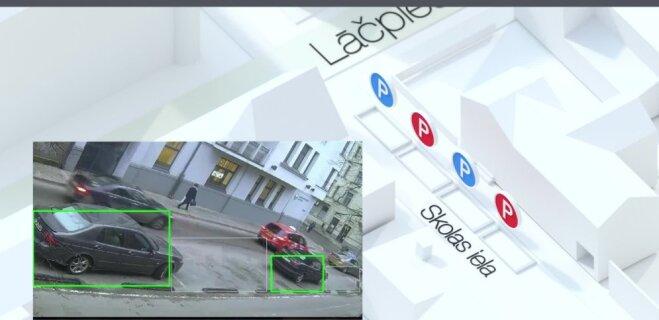 LMT и 4SmartStreets придумали, как упростить в Риге поиск места для парковки (ВИДЕО)