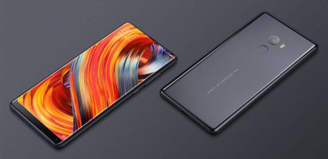 Китайская Xiaomi представила безрамочный смартфон Mi Mix 2