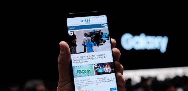 В Латвии начались продажи Samsung Galaxy Note 8 за €1009 (и с поддержкой двух SIM-карт!)