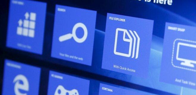 В Windows 10 появится функция управления интерфейсом при помощи взгляда