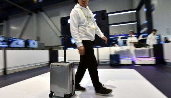 Электрический Харлей, чемодан-робот и другие новинки выставки электроники