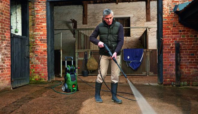 Пожалуйся и выиграй исполнителя грязной работы – очиститель высокого давления Bosch