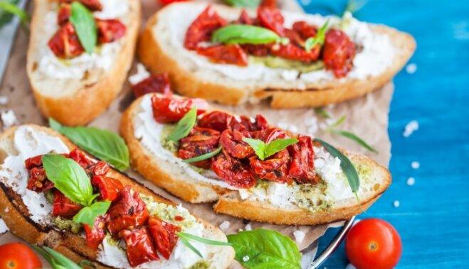 Шесть рецептов вкусных блюд из помидоров
