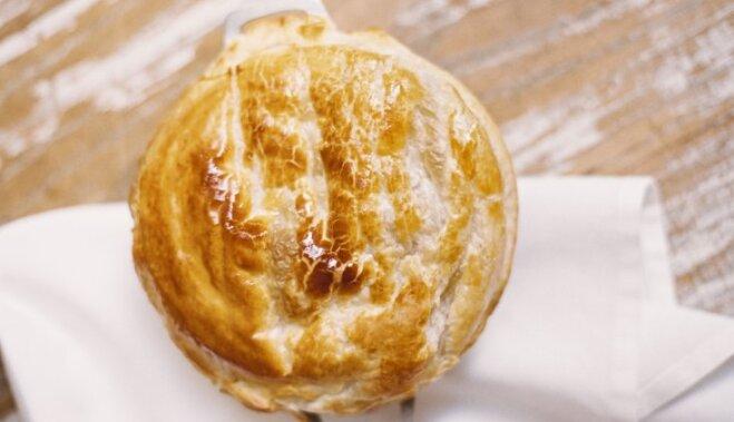 Мясной пирог Хризантема  пошаговый рецепт с фото на