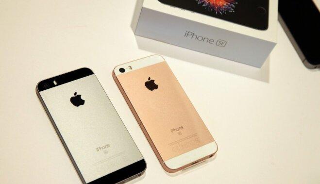 'Apple' ziņo par 'iPhone' tirdzniecības apjoma atkārtotu kritumu; samazinās arī peļņa