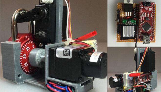 ВИДЕО: Как с помощью 3D-печати и Arduino взломать шифрозамок за 2 секунды