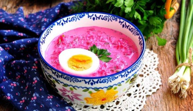 10 auksto zupu receptes ar kefīru atvēsinošai ēdienreizei