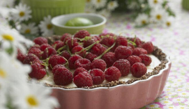 Рецепт с домашними замороженными ягодами