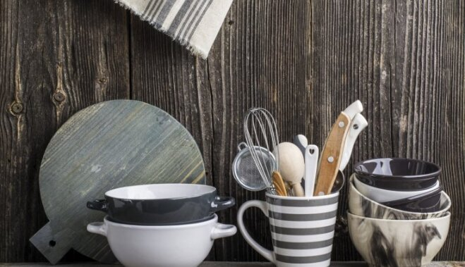 Neatņemamie palīgi virtuvē: kā veikli nomazgāt smalkos rīkus