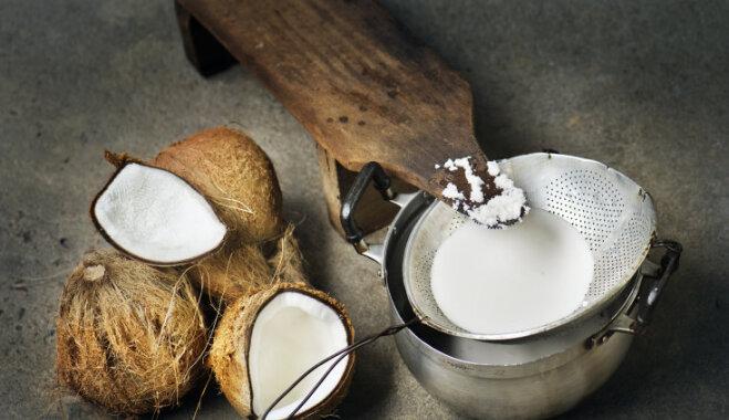 Kā pagatavot kokosriekstu pienu