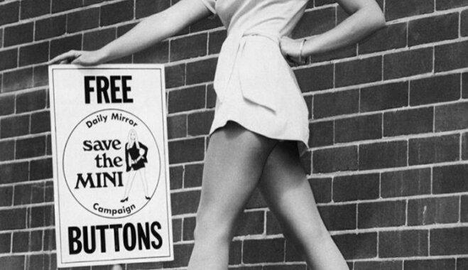 """""""Смерть хорошему вкусу"""": изобретательнице мини-юбки — 85"""