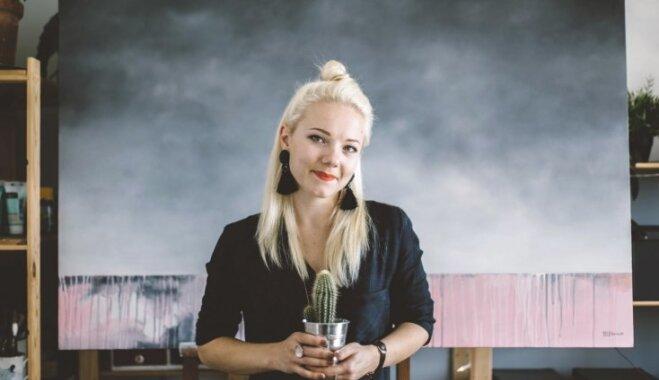Māksliniece Ieva Ekmane: māksla ir jāpārdod un latvieši arī prot to novērtēt