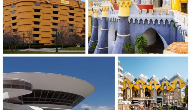 Arhitektūras šedevri, kas ir ceļojuma vērti