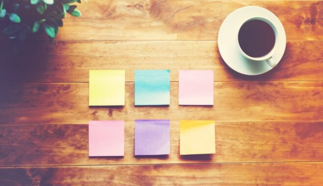 Krāsainās līmlapiņas: radoši pielietojumi ikdienas atvieglošanai