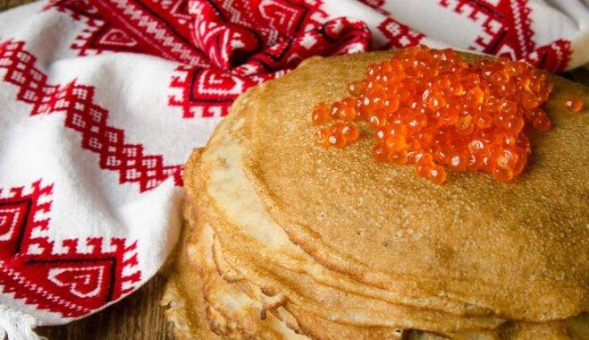 Pankūku torte 'Sarkanais un melnais'