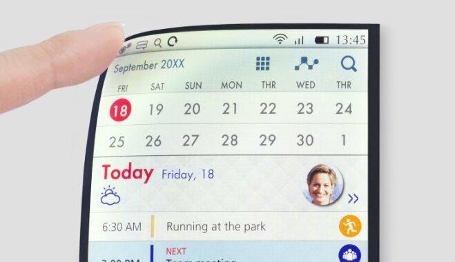 Компания Japan Display представила гибкий дисплей, который могут получить будущие iPhone