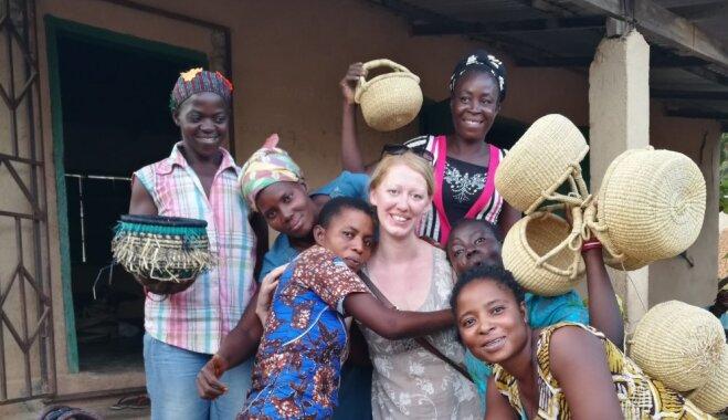 Ceļotāju stāstu vakarā Valmierā stāstīs par piedzīvojumiem Ganā