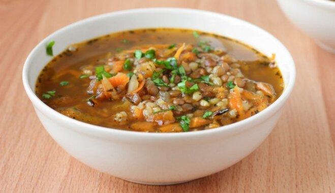 Французский чечевичный суп