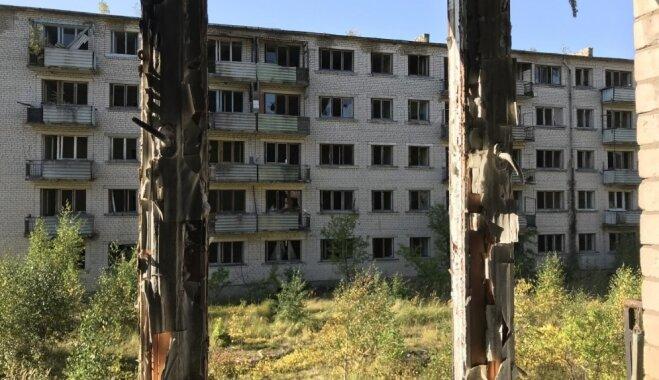 """ФОТО. Развалившийся """"Комбинат"""", или Как сейчас выглядит город-призрак Скрунда-1"""