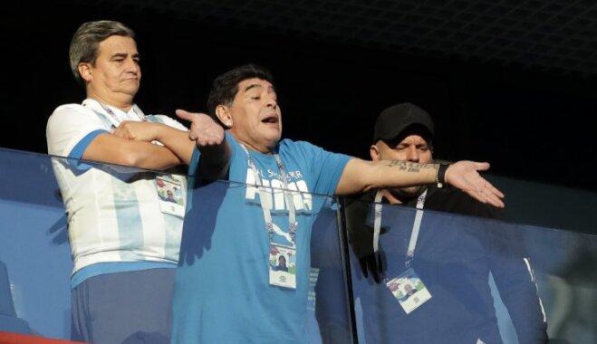 ФИФА платит Марадоне 11 тысяч евро в день и оплачивает расходы на ЧМ-2018