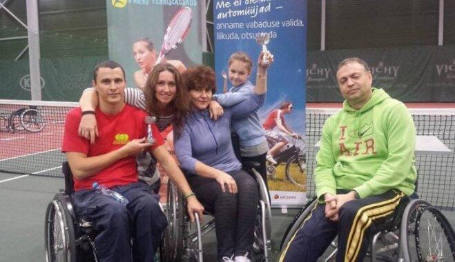 Baltijas ratiņtenisa čempiones stāsts: Cilvēka spējām nav robežu