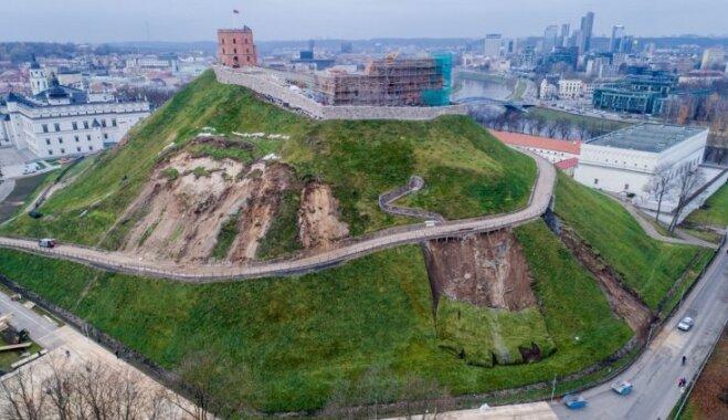 Из-за горы Гедиминаса Вильнюс готов объявить экстремальную ситуацию на национальном уровне