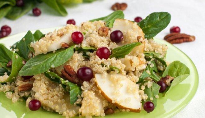 Kvinojas salāti ar bumbieriem