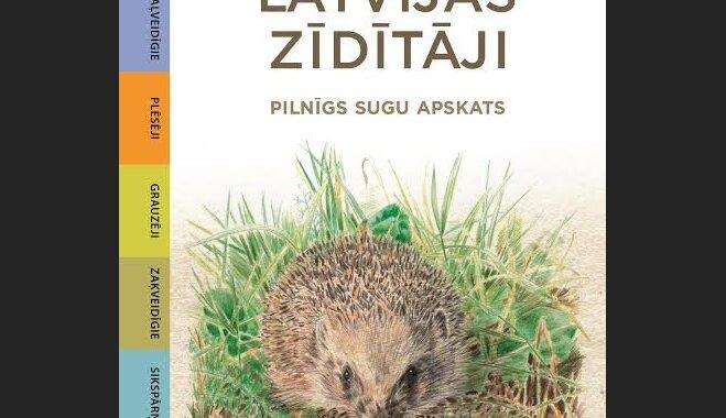 Klajā nāk bioloģes Gundegas Kampes-Pērsones grāmata par Latvijas zīdītājiem