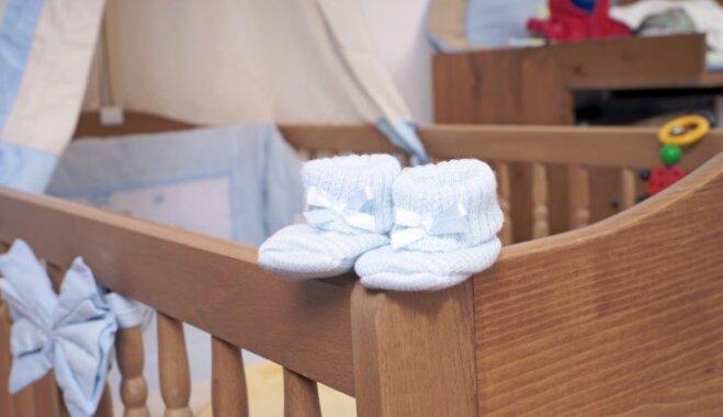 Ziemassvētkos Rīgas Dzemdību namā piedzimuši 50 mazuļi