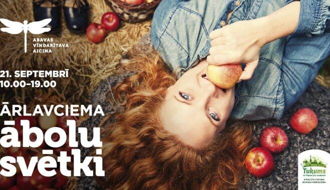 Hei, 21.septembrī nepaliec mājās un pavadi neaizmirstamu dienu ābolos!