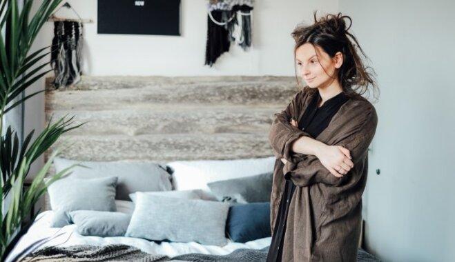 Ciemos: dekoratores Baibas Prindules-Rences skandināvu stila oāze, kur darbs satiek mājas