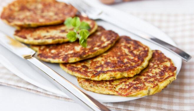 Kabaču pankūku recepte