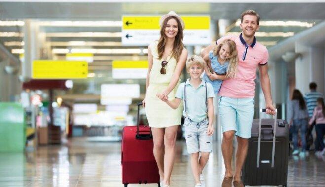 Опрос: 45% жителей Латвии в этом году путешествовали за пределы страны