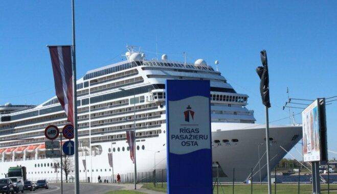 Šogad pirmo reizi Rīgas ostā piestās pieci kruīza kuģi