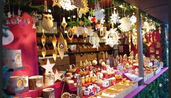 Liepājas Rožu laukumā durvis vērs tradicionālais Ziemassvētku tirdziņš