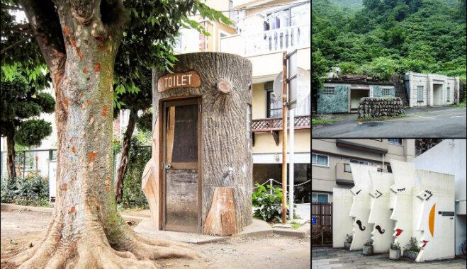 Архитектура по нужде: самые оригинальные здания общественных туалетов в Японии (ФОТО)