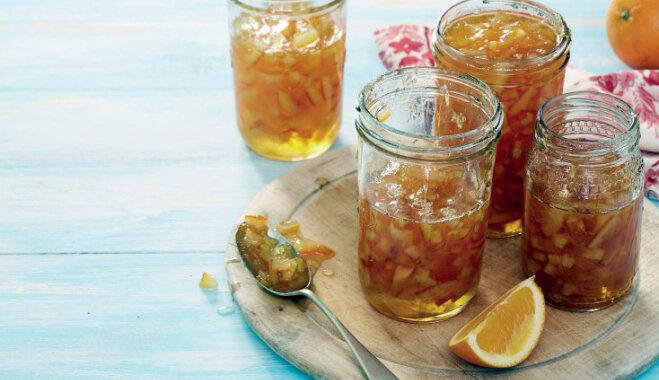Apelsīnu ievārījuma recepte