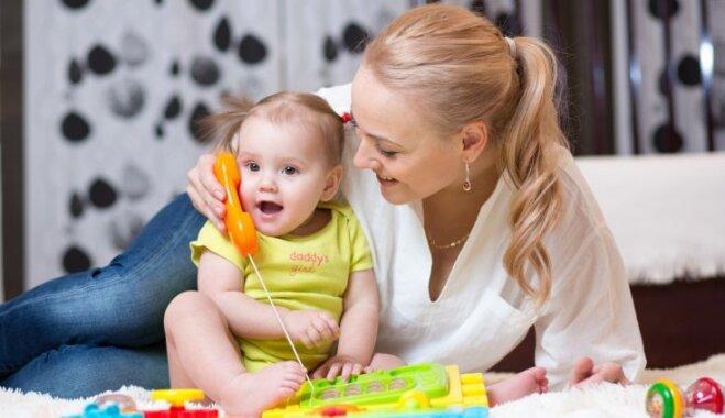 Kādā vecumā bērnam būtu jāsāk runāt; iespējamie valodas attīstības traucēkļi