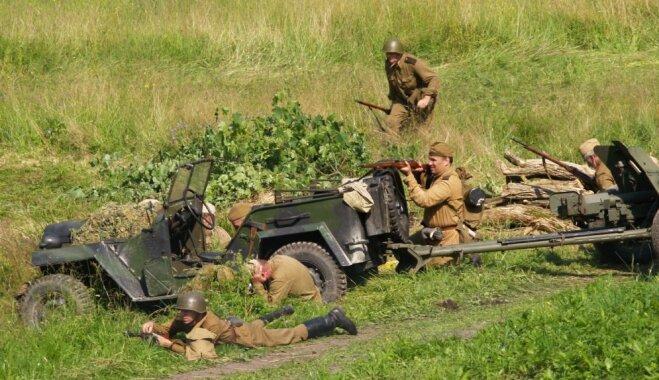Tērvetē izspēlēs vērienīgas Pirmā un Otrā pasaules kara cīņas