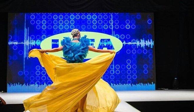 ФОТО. Платье и сумочка от IKEA: когда шведский бренд не только товары для дома