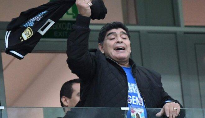 Диего Марадону госпитализировали после игры Аргентины сНигерией