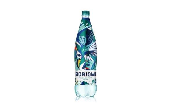 'Borjomi' nāk klajā ar īpašu svētku karnevāla iepakojuma dizainu