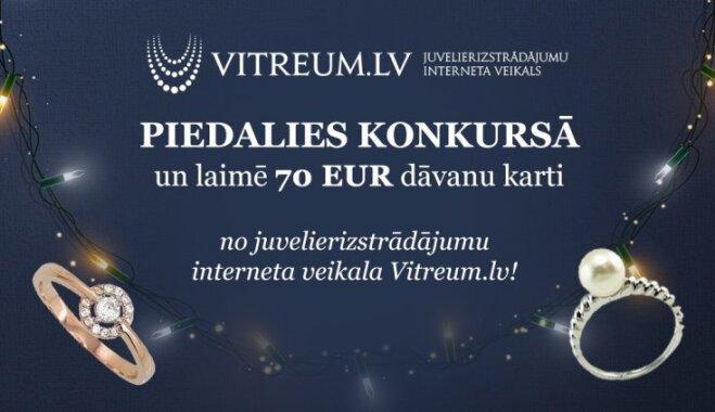Noslēdzies konkurss sadarbībā ar 'Vitreum.lv'