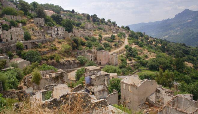 Sardīnijas populārākā spoku pilsēta Gairo, kur zeme burtiski pazuda ļaudīm zem kājām