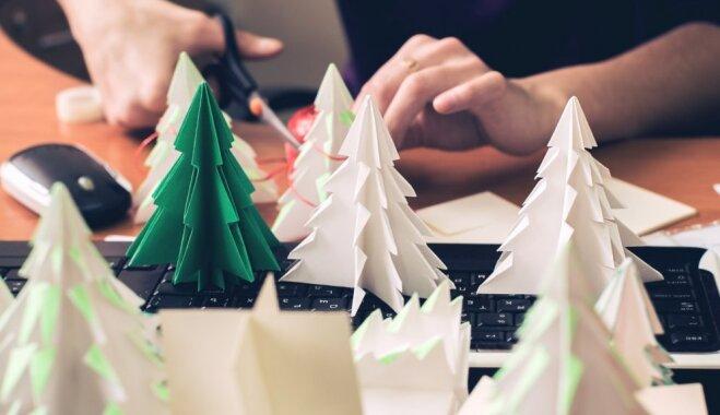 Ģimenes aicina uz bezmaksas Ziemassvētku radošajām darbnīcām