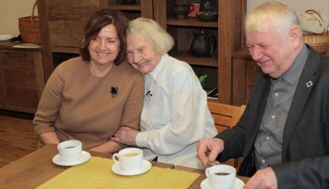 В свои 104 года Лидия раскрыла рецепт долголетия